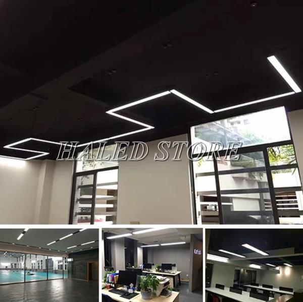 Ứng dụng chiếu sáng của đèn LED phòng sạch HLdalcr4-36