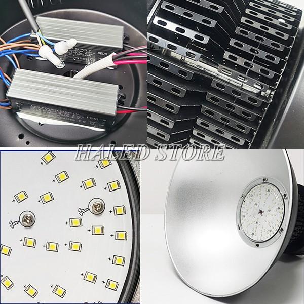 Cấu tạo của đèn LED nhà xưởng HLDAB9-200