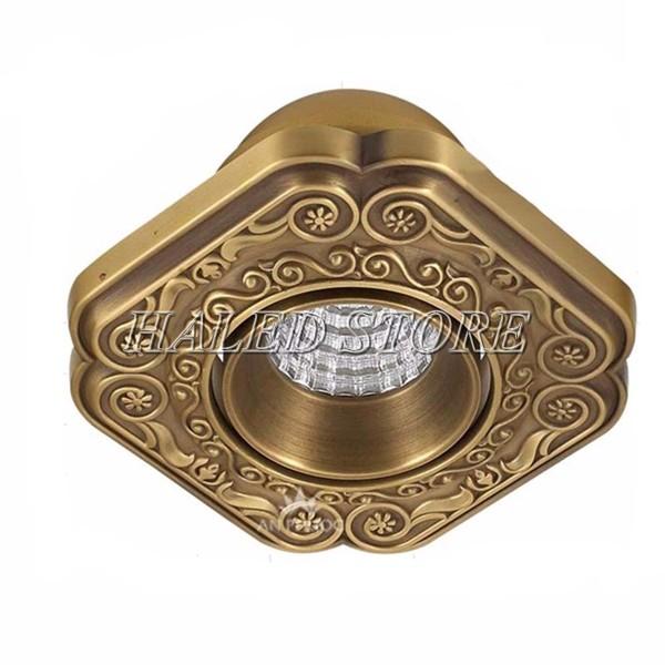 Kiểu dáng đèn LED âm trần HLDA74009-7