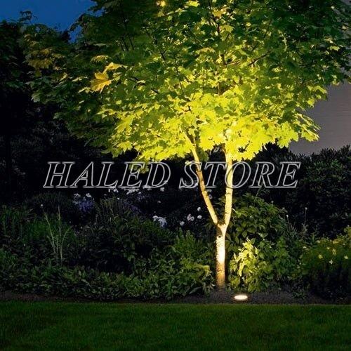 Ứng dụng chiếu sáng của đèn LED chiếu cây HLDAOG1-5 RGB