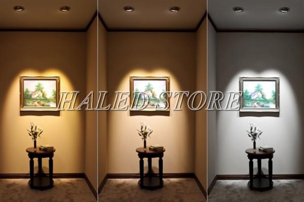 Ứng dụng chiếu sáng của đèn LED âm trần HLDA74003-12