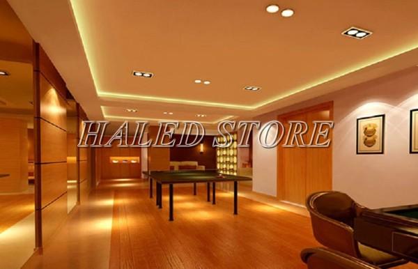 Ứng dụng chiếu sáng của đèn LED âm trần HLDADLV2-14