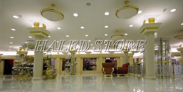 Ứng dụng chiếu sáng của đèn LED âm đất HLDADLT4-6