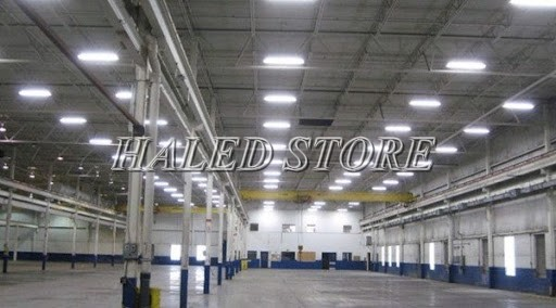 Đèn LED nhà xưởng PLDA BY560X 105/ACW2-75 ứng dụng trong chiếu sáng nhà máy