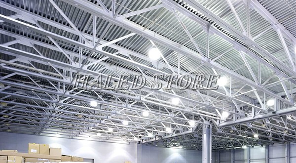 Đèn LED nhà xưởng PLDA BY718P 200/PSU-135 chiếu sáng nhà kho