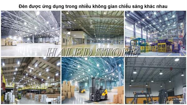 Đèn LED nhà xưởng PLDA BY718P 300/PSU-203 chiếu sáng nhà kho