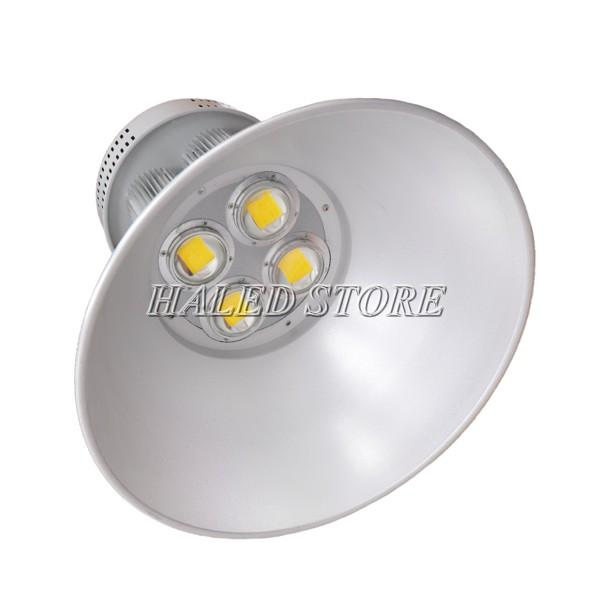 Đèn LED nhà xưởng HLDAB11-200 khi lắp choá 120 độ