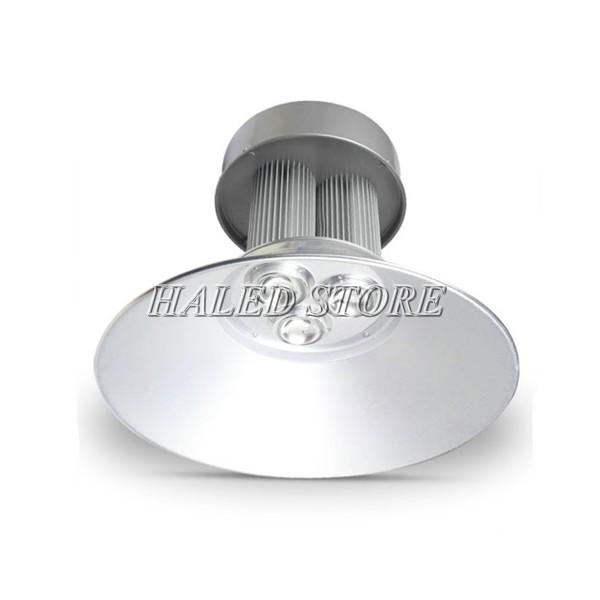 Đèn LED nhà xưởng HLDAB11-150 khi lắp choá 120 độ