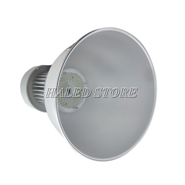 Đèn LED nhà xưởng HLDAB3-120 khi lắp chóa sâu 90 độ