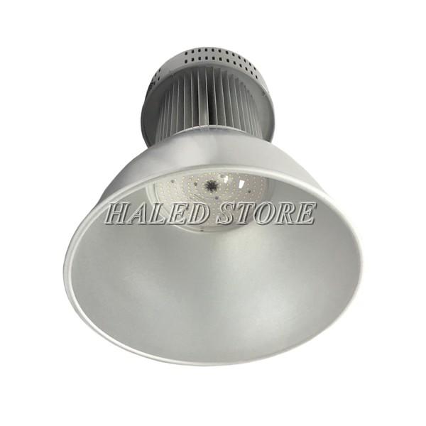 Đèn LED nhà xưởng HLDAB3-200 khi lắp choá sâu 90 độ