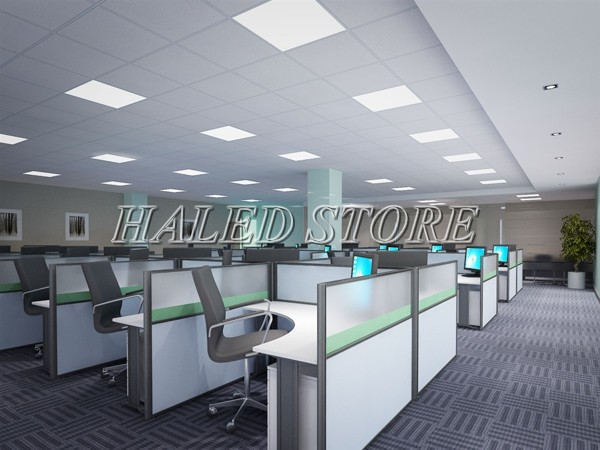 Ứng dụng chiếu sáng của đèn panel chiếu sáng văn phòng
