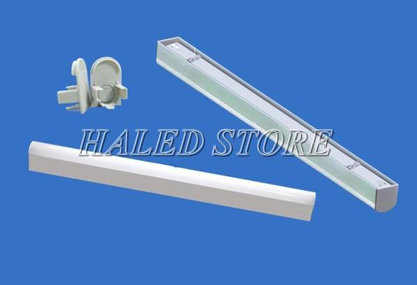 Kiểu dáng đèn LED phòng sạch HLDALCR1.2-18