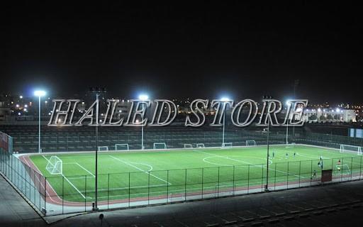 Đèn pha LED cao áp 100W chiếu sáng sân bóng đá