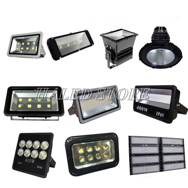 Các mẫu đèn pha LED cao áp 400w phổ biến hiện nay