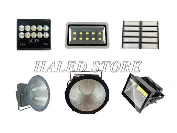 Các mẫu đèn pha LED cao áp 500w phổ biến hiện nay