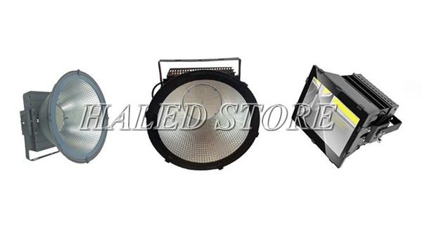 Các mẫu đèn pha LED cao áp 600w phổ biến hiện nay