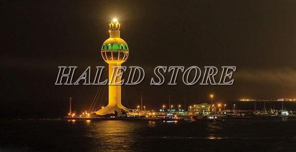 Đèn pha cao áp 1500w chiếu sáng ngọn hải đăng