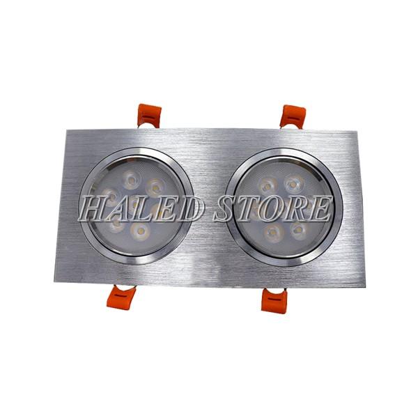 Kiểu dáng đèn LED âm trần HLDADLV2-14