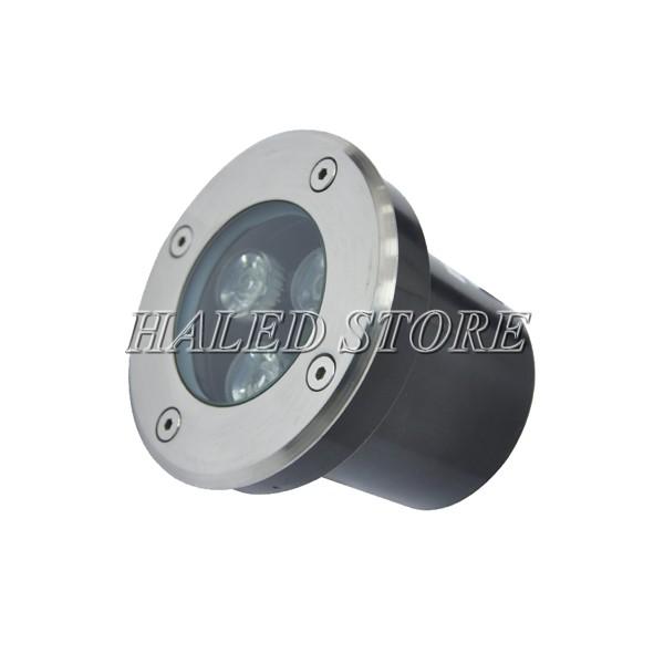Kiểu dáng đèn LED âm đất HLDAUG1-3 RGB