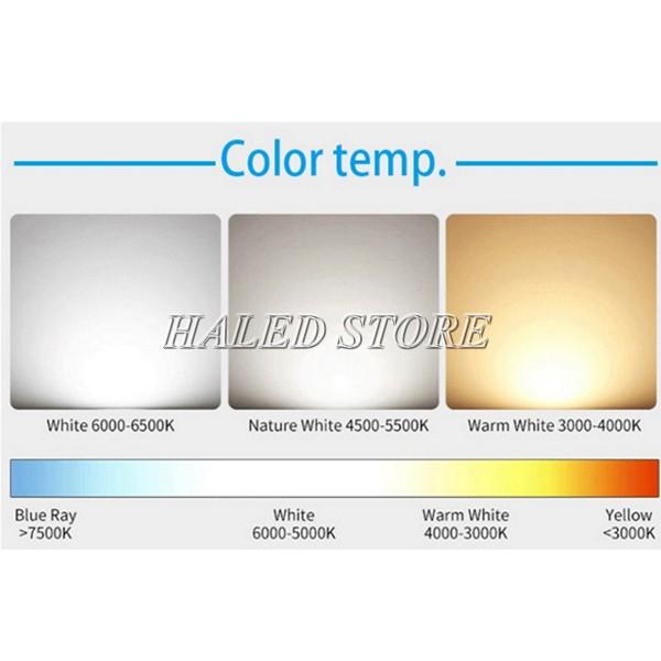 Đèn LED nhà xưởng HLDA BUFO3-100 có 3 màu ánh sáng