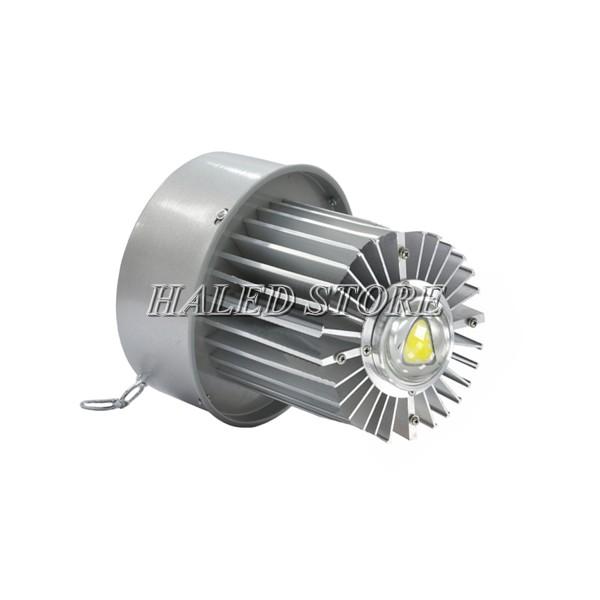 Tản nhiệt của đèn LED nhà xưởng HLDAB11-100
