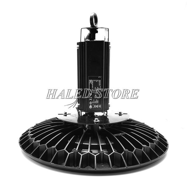 Tản nhiệt và bộ nguồn của đèn LED nhà xưởng HLDA BUFO3-200
