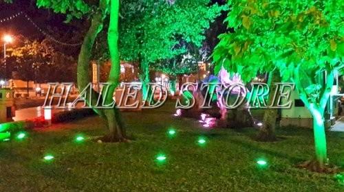 Ứng dụng chiếu sáng của đèn LED chiếu cây HLDAOG1-24
