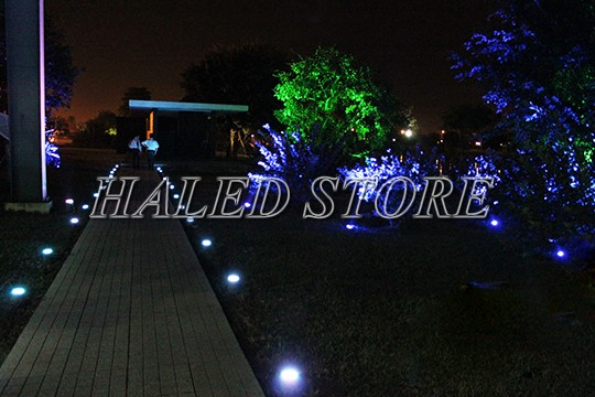 Ứng dụng chiếu sáng của đèn LED âm đất HLDAUG1-1