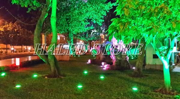 Ứng dụng chiếu sáng của đèn LED âm đất HLDAOG1-3 RGB