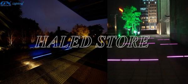 Ứng dụng chiếu sáng của đèn LED âm đất HLDAOG3-3 RGB
