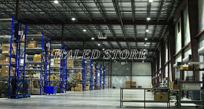 Ứng dụng của đèn LED nhà xưởng HLDA UFO2-100