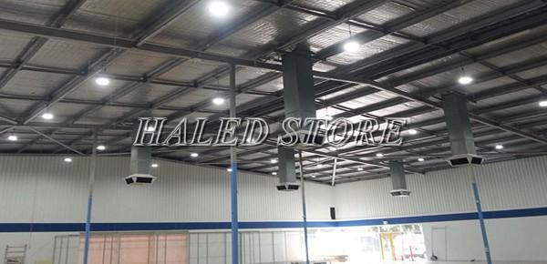 Ứng dụng của đèn LED nhà xưởng HLDA BUFO1-150