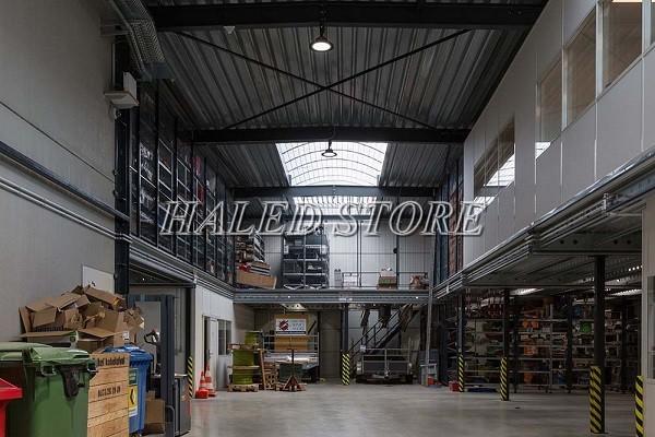 Ứng dụng của đèn LED nhà xưởng HLDA BUFO1-200