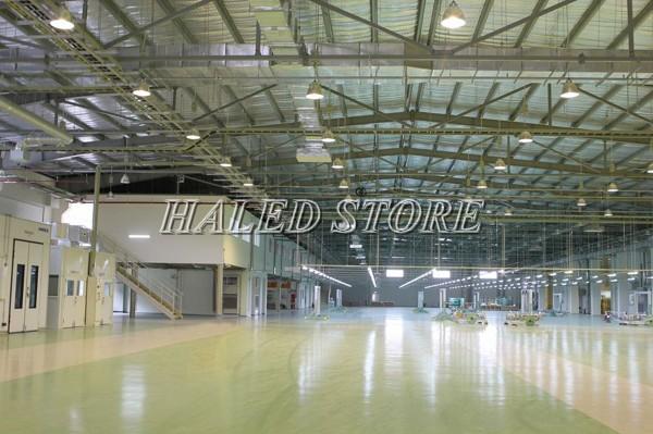 Ứng dụng của đèn LED nhà xưởng HLDAB1-180