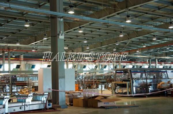 Ứng dụng của đèn LED nhà xưởng HLDAB2-200