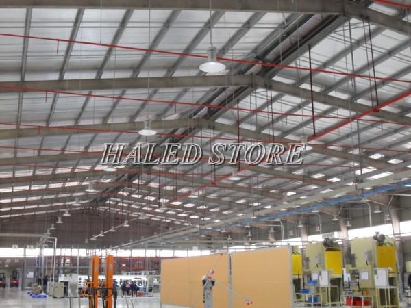 Ứng dụng của đèn LED nhà xưởng HLDAB3-120