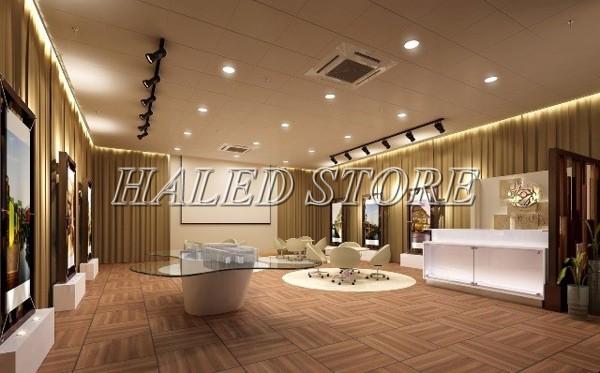 Ứng dụng chiếu sáng của đèn LED âm trần HLDADLT2-7