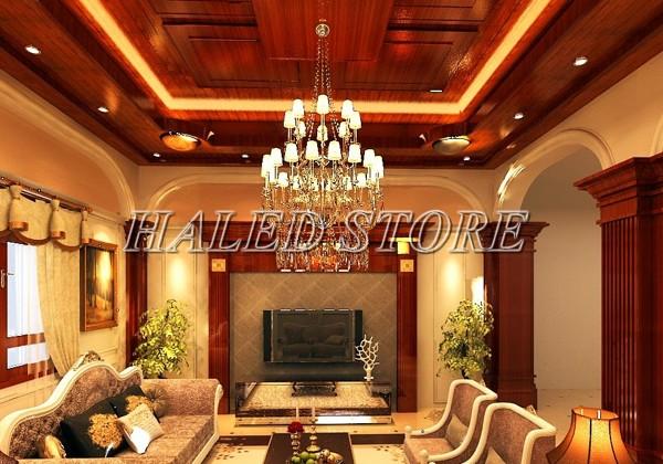 Ứng dụng chiếu sáng của đèn LED âm trần HLDA74007-12