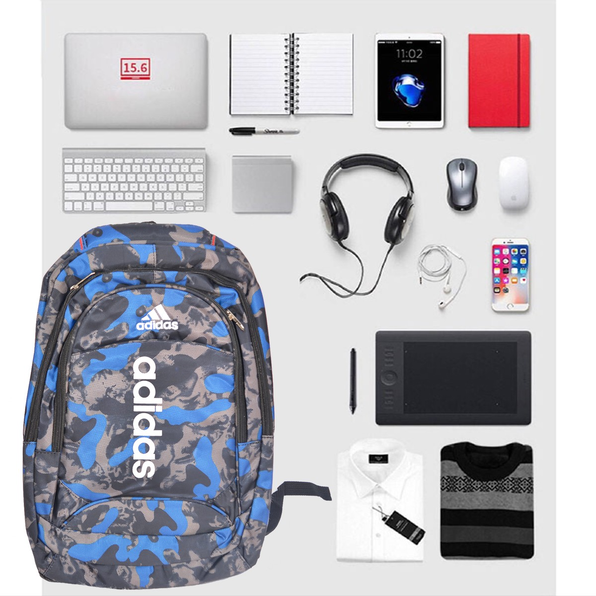 Balo Đa Năng đựng Sách-Laptop-Dụng Cụ Cá Nhân BL35
