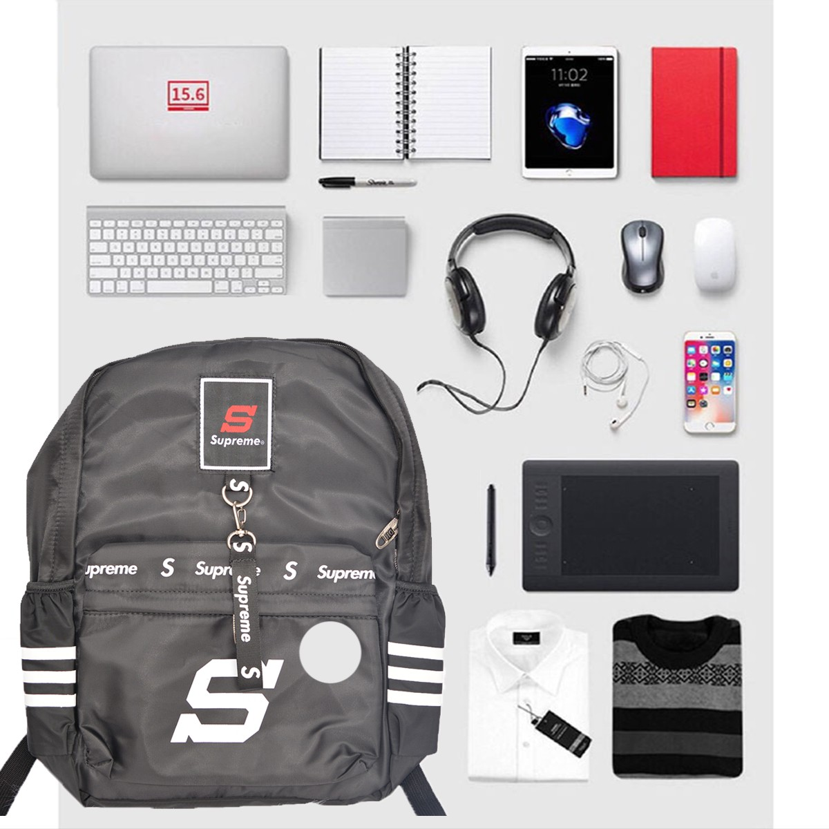 Balo Đa Năng đựng Sách-Laptop-Dụng Cụ Cá Nhân BL44