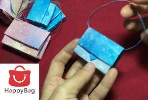 Cách làm túi xách bằng giấy ai cũng thực hiện được