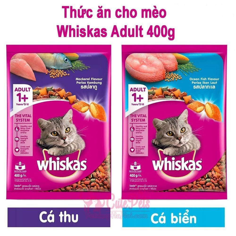 Whiskas- thức ăn được ưa chuộng nhất hiện nay