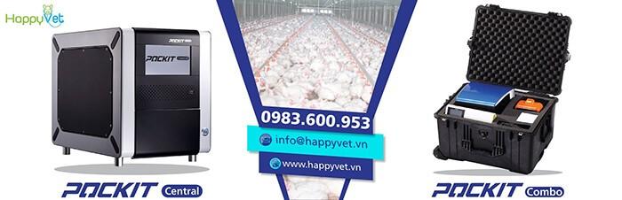 Hệ thống máyPOCKIT iiPCR chẩn đoán, phát hiện nhanh virus gây bệnhLeucosis ở gà