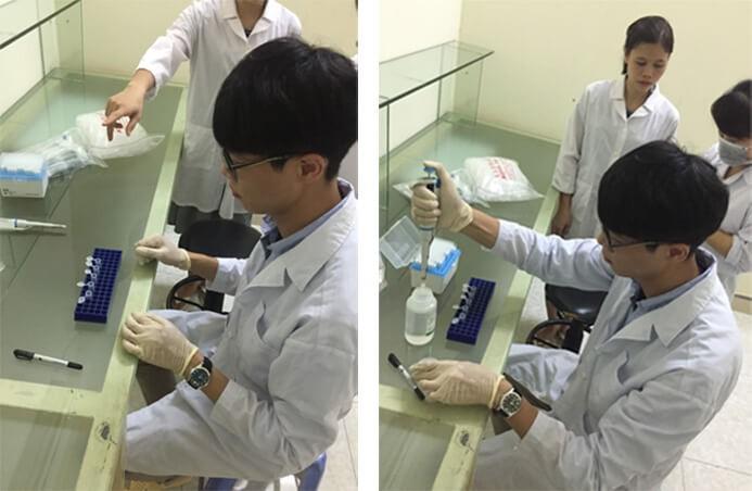 kỹ thuật thao tác với mẫu gà bệnh