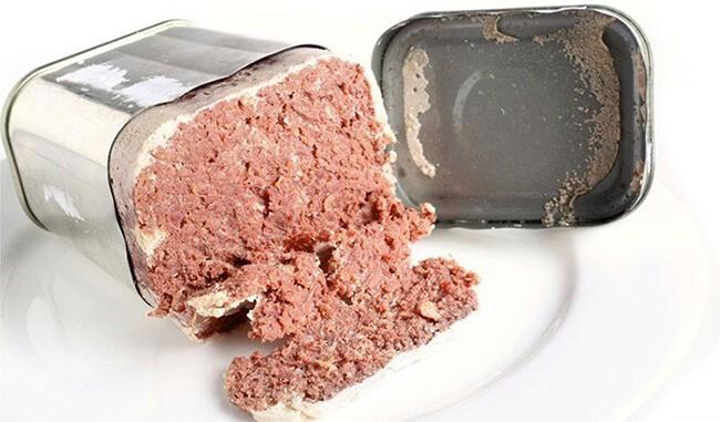 Clostridium botulinum cư trú trong thịt hộp
