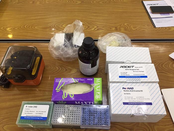 HappyVet và hoạt động bàn giao máy POCKIT Xpress và Kit ASF cho phòng lab công ty ở Thái Bình 2