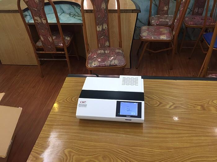 HappyVet và hoạt động bàn giao máy POCKIT Xpress và Kit ASF cho phòng lab công ty ở Thái Bình 3