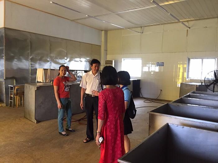 HappyVet và hoạt động bàn giao máy POCKIT Xpress và Kit ASF cho phòng lab công ty ở Thái Bình