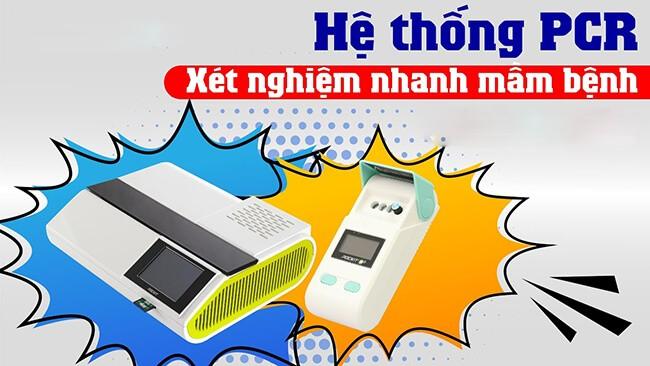 Hệ thống PCR xét nghiệm nhanh mầm bệnh trên thú y
