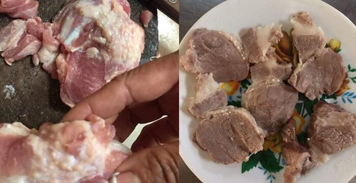 Ăn thịt chín để phòng bệnh sán trên lợn